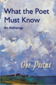 What the poet must know